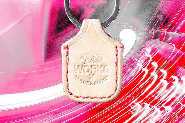 Natural Tan Standard Keychain
