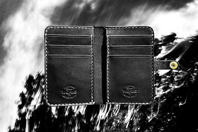 Black Vertical Wallet
