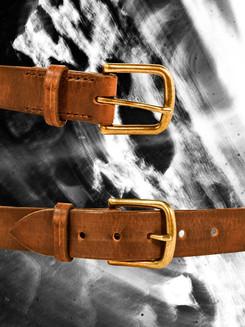 """Dark Brown 1.25"""" Belt"""