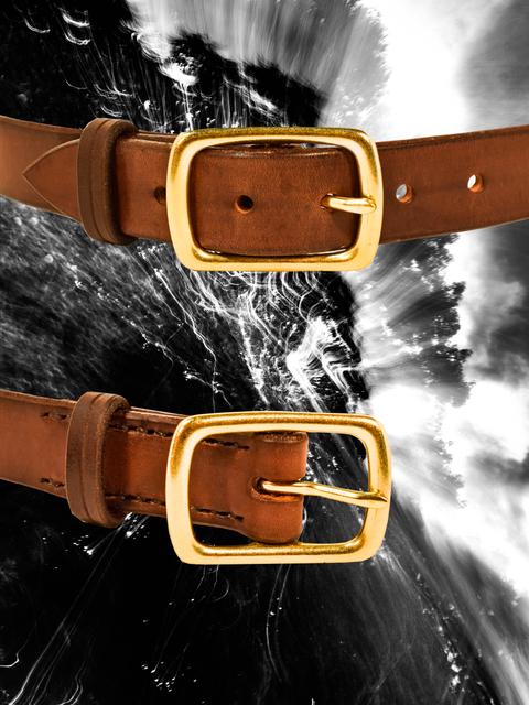 """Dark Brown 1"""" Belt"""