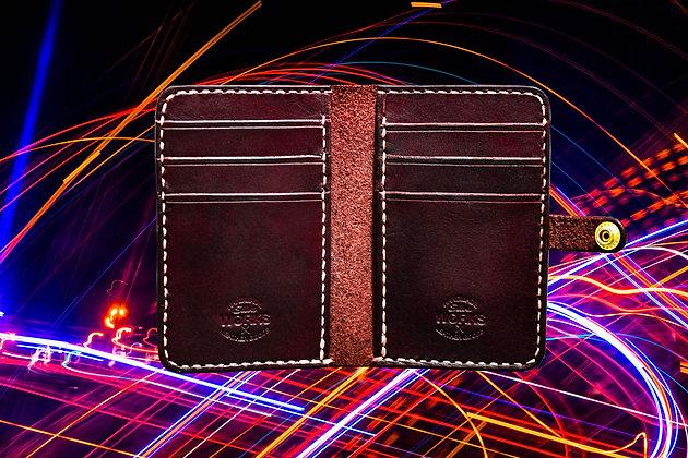 Mahogany Vertical Wallet