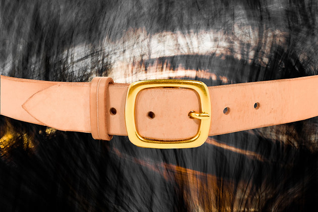 Natural Tan Belt