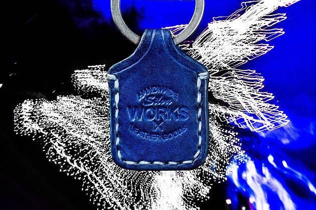 Blue Standard Keychain