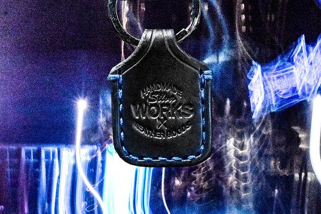 Black Standard Keychain