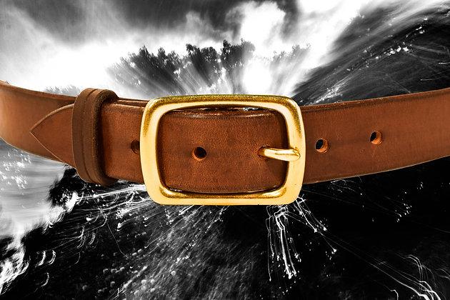 "Brown 1"" Belt"