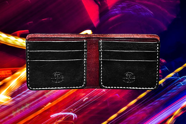 Mahogany/Black Bifold Wallet