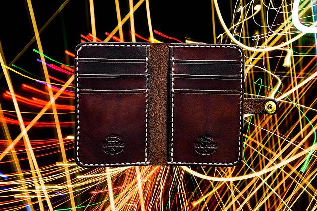 Dark Brown Vertical Wallet