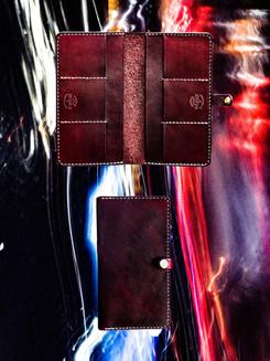 Mahogany Long Wallet