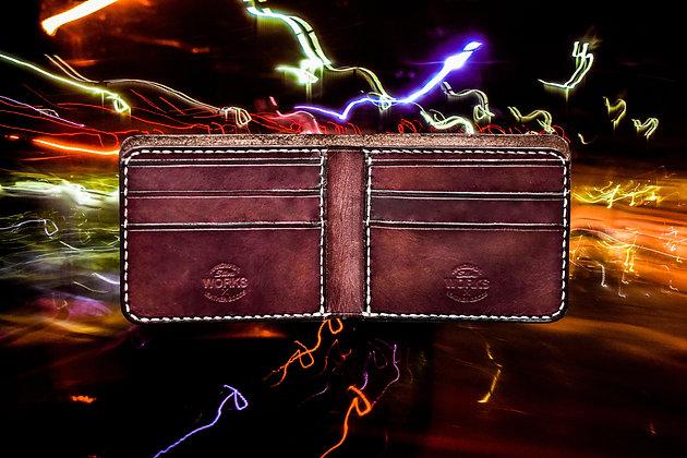Dark Brown Deluxe Bifold Wallet