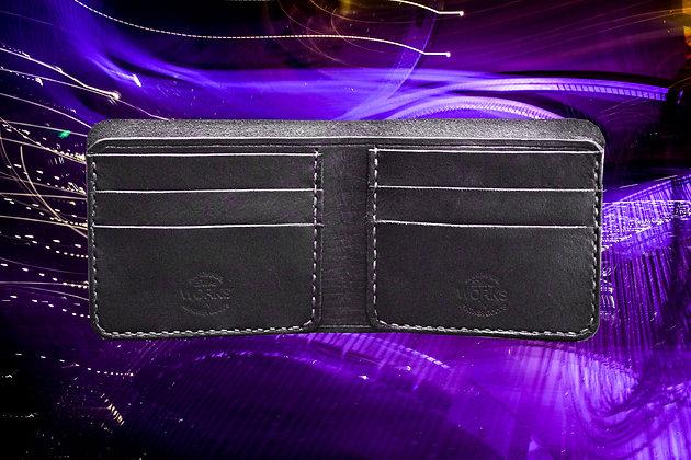 Black/Lilac Bifold Wallet