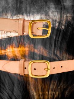 "Natural Tan 1.25"" Belt"