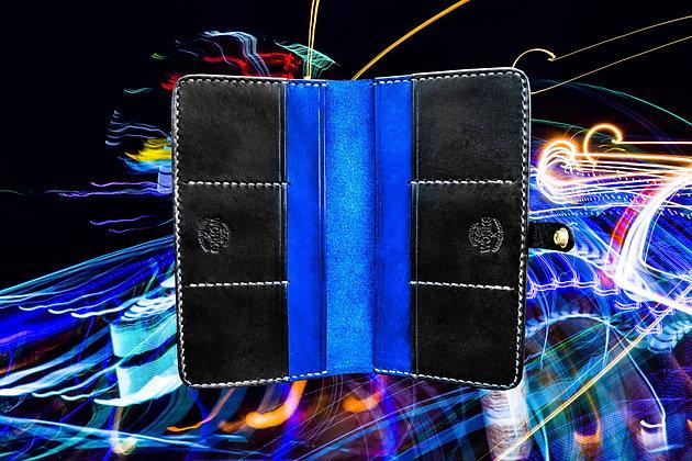 Blue/Black Long Wallet