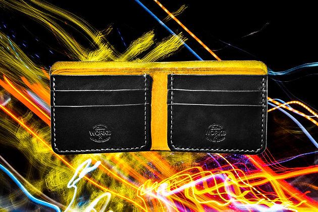 Yellow/Black Bifold Wallet
