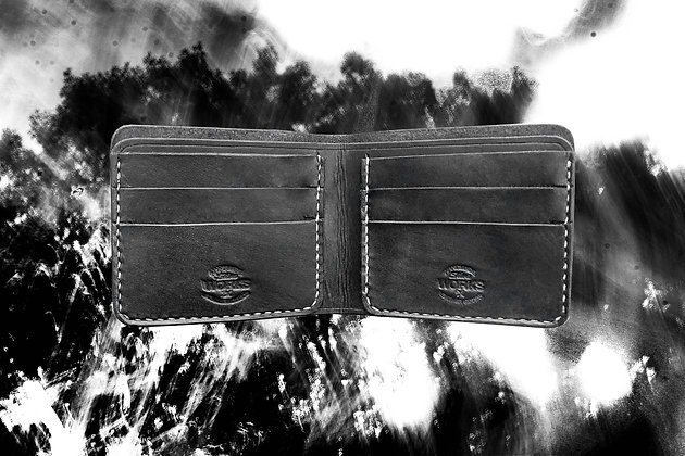 Black/White Bifold Wallet