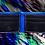 Thumbnail: Blue/Black Bifold Wallet