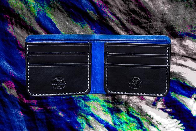 Blue/Black Bifold Wallet