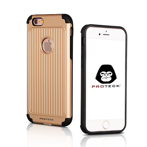 iPhone 7 Case, PROTECK Ultra Light Slim Shockproof Silicone TPU Brushed Grip Pro