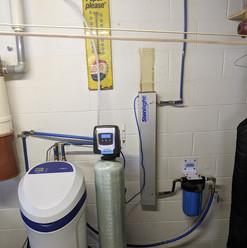Big Blue filter and carbon backwash inst