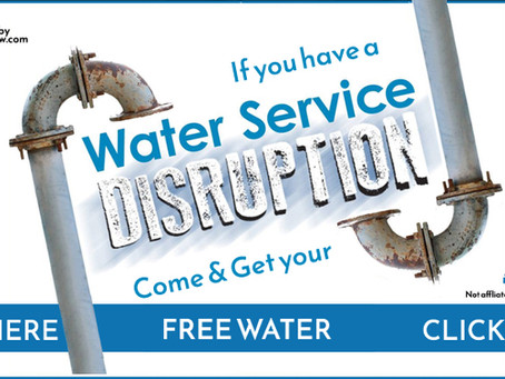 Water is off on Burness Dr, from Alexandra Blvd to 51 Burness Dr., St. Catharines
