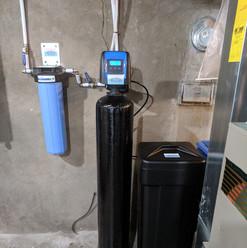 Big Blue filter and softener installatio