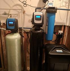 carbon backwash, softener and Big Blue f