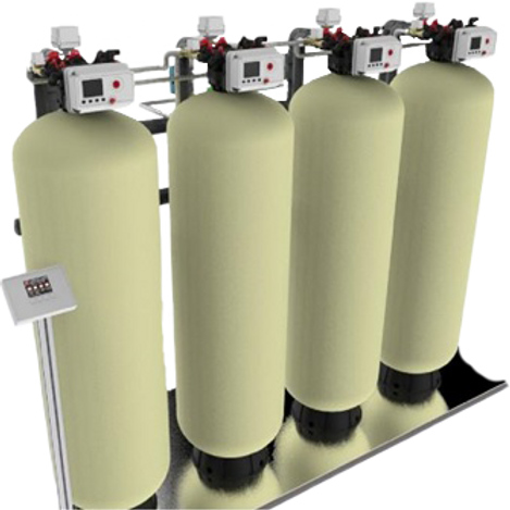 ASN 9000 Series Multi Tank On-Demand Water Filters