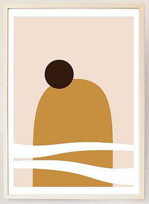 Desert Mirage No. X - Print
