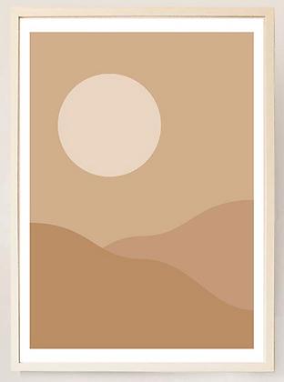 Desert Mirage No. I - Print