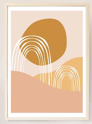Desert Mirage No. XV - Print