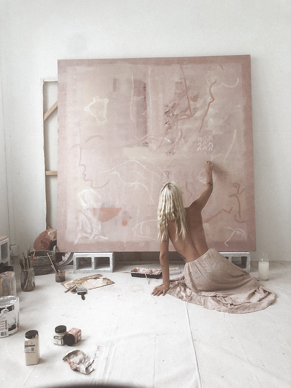 Etre Britta Painting_