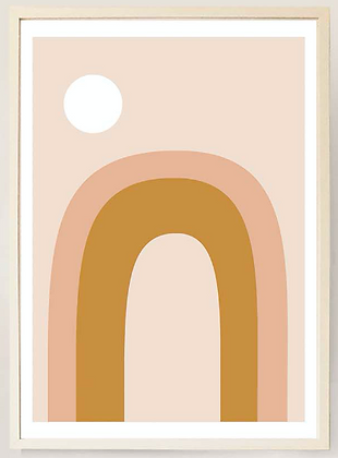 Desert Mirage No. V - Print