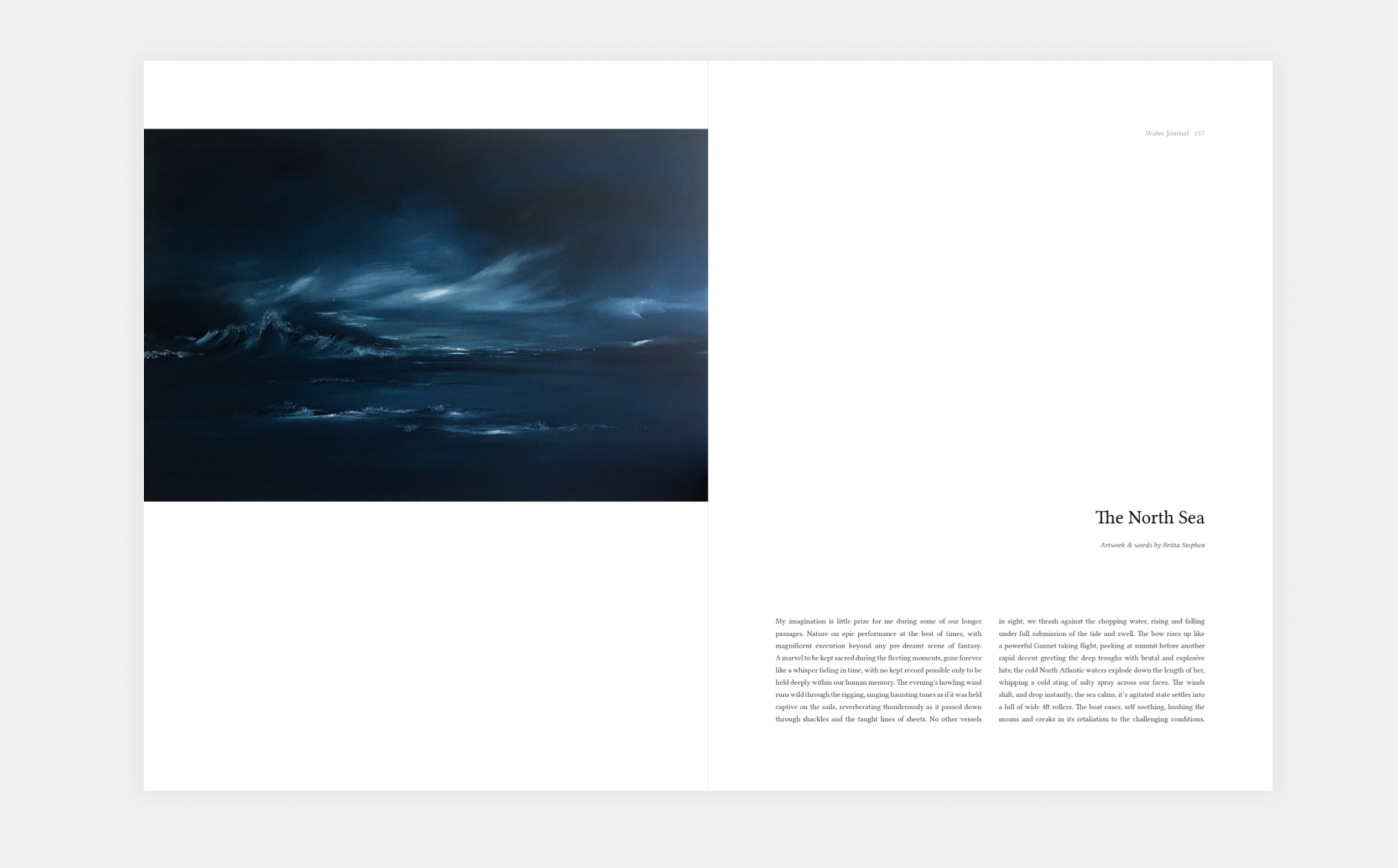 'The North Sea' - The Water Journal