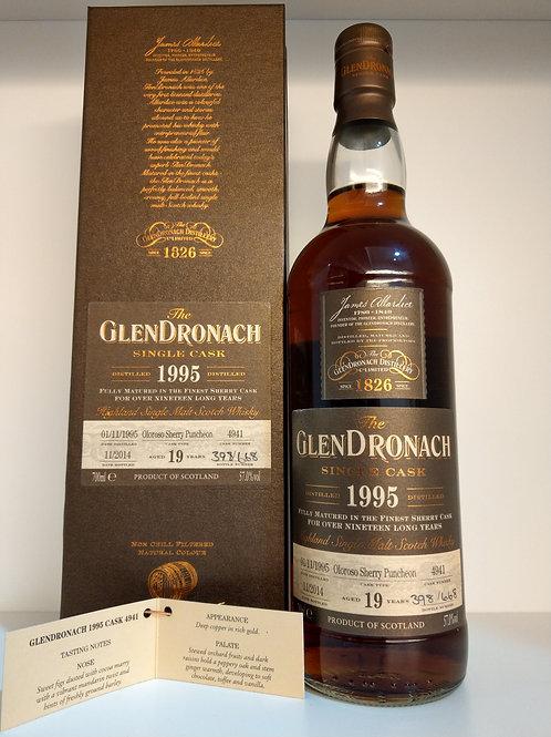 Glendronach 1995 Single Cask No. 4941