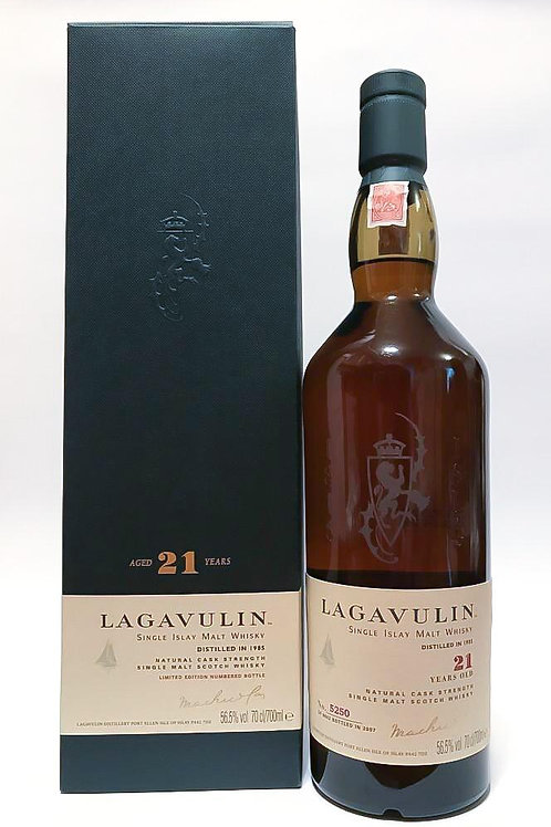 Lagavulin 21 years old 1985