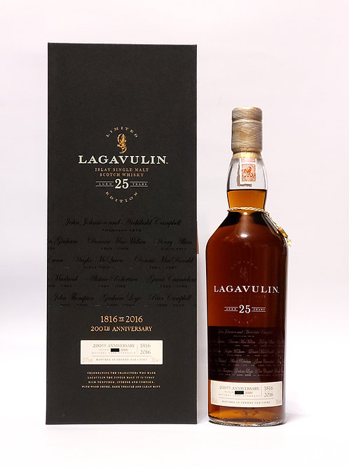 [WF92] Lagavulin 25YO - 200th Anniversary