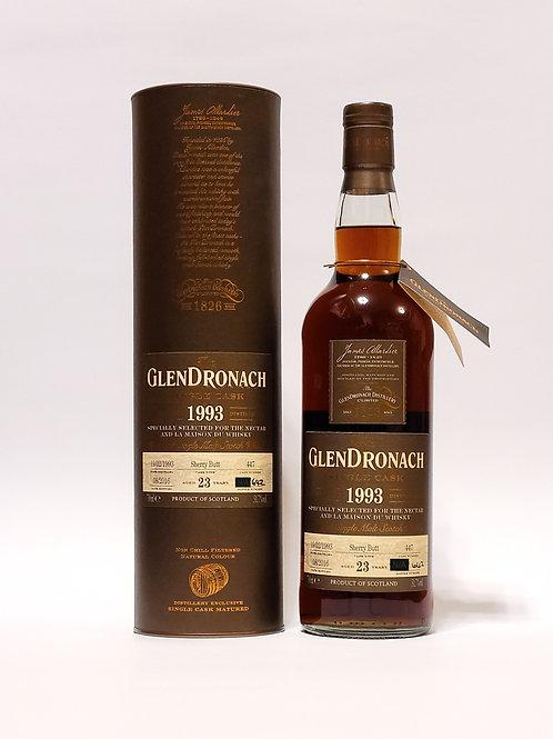 GlenDronach 1993 #447 for LMdW & Nectar
