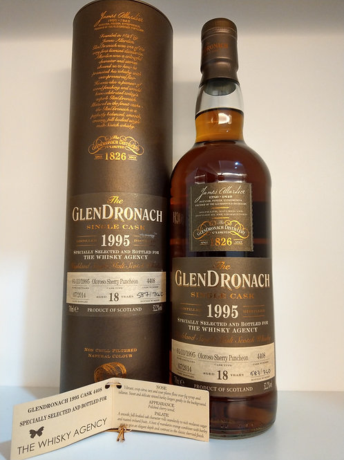 Glendronach 1995 Single Cask for TWA