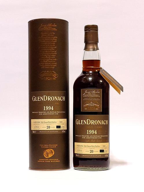 Glendronach 1994 Single Cask #3400 for Abbey Whisky