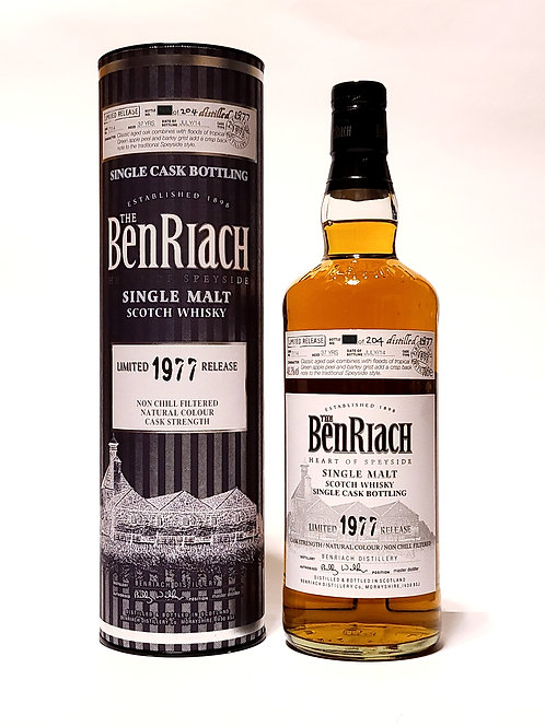 BenRiach 1977 37YO Single Cask