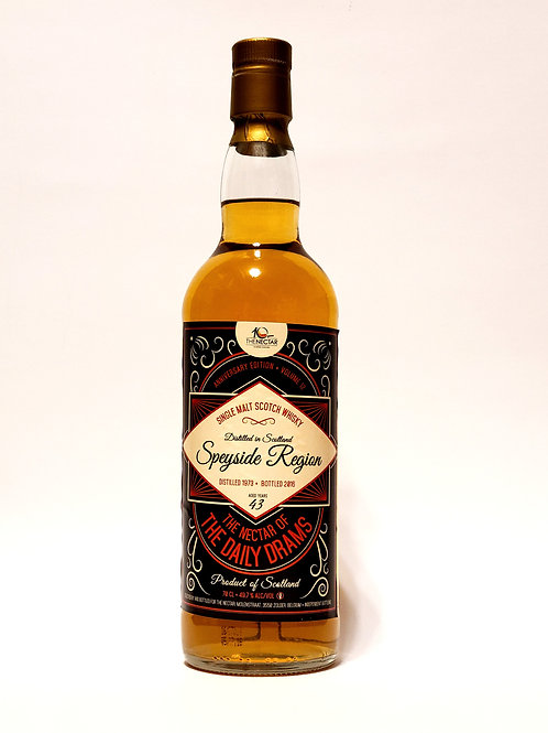 Speyside 1973 43yo for Nectar 10th anniversary