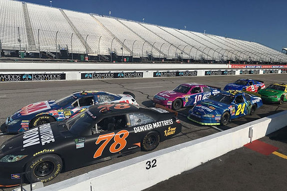 Alicia DuCote and Lee DuCote drive Nascar on streaming tv show called Adventure and Romance.