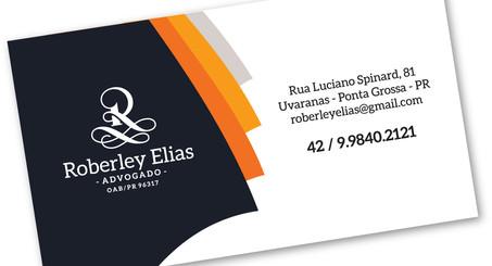 Cartão de visitas para Advogado