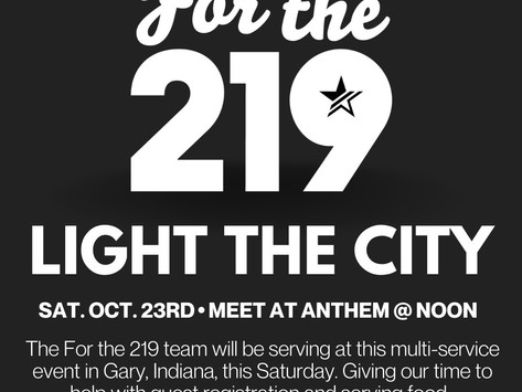 Oct. 23rd | for the 219
