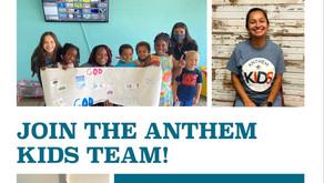 Anthem kids needs you!