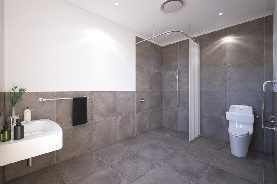 Disability Bathroom Internal Render