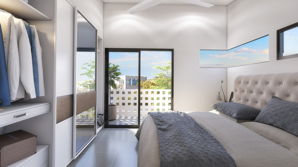 Micro Housing Render