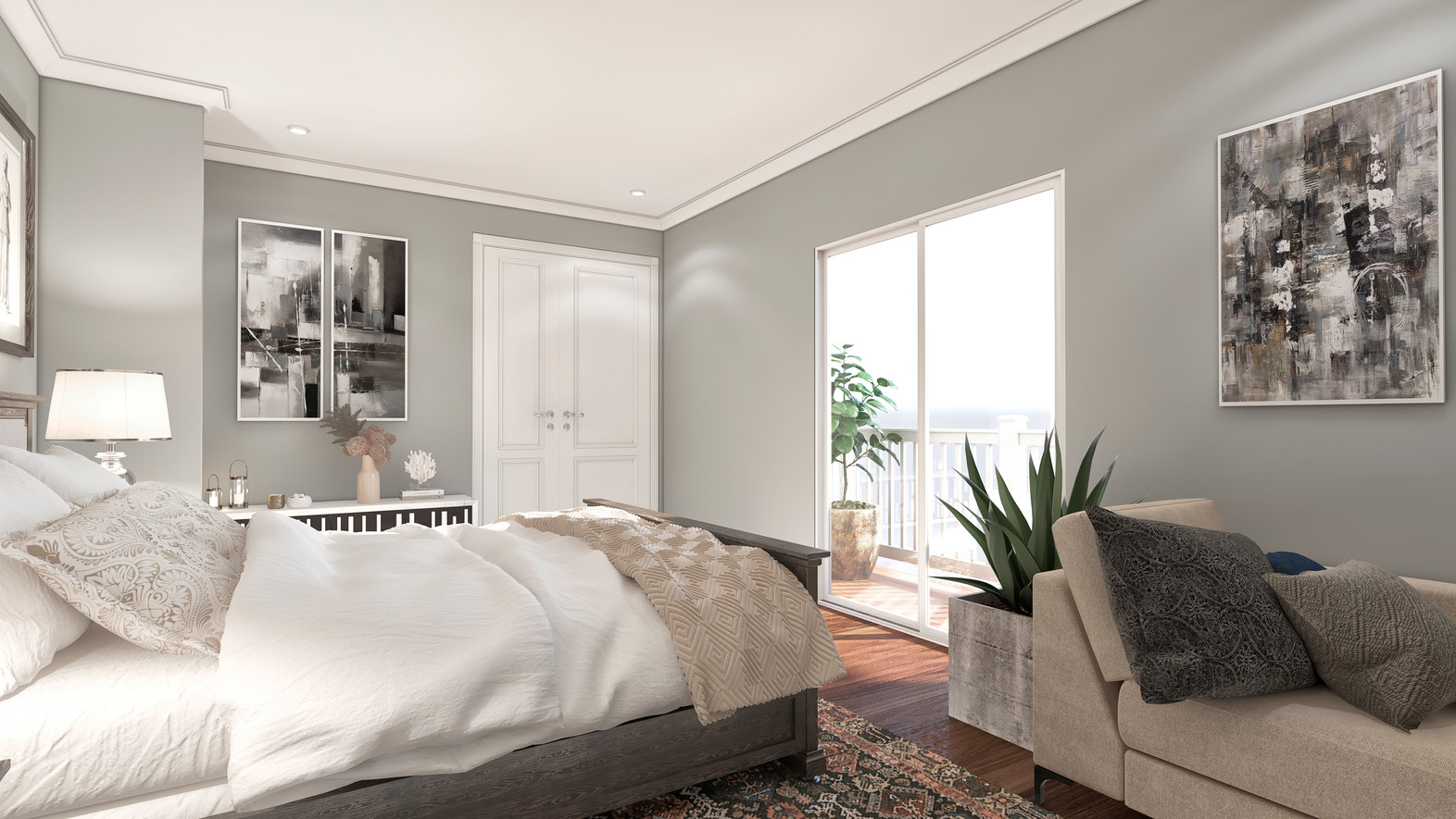 Bedroom Render