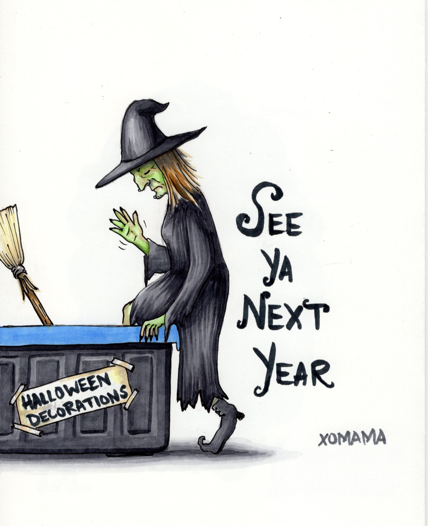 Halloween is Done