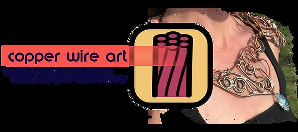 custom original twisted wire art button