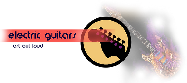 custom electric guitar button